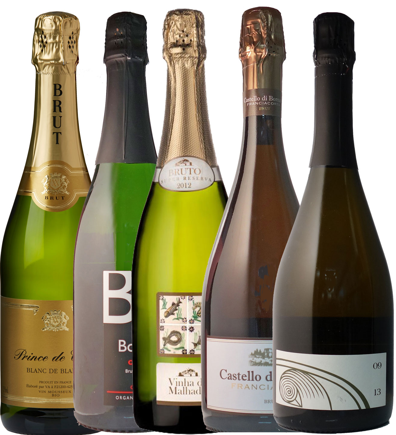 Sparkling Organic Wine Set(5 bottles)